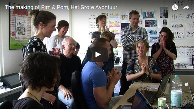 Nieuws The Making of Pim en Pom