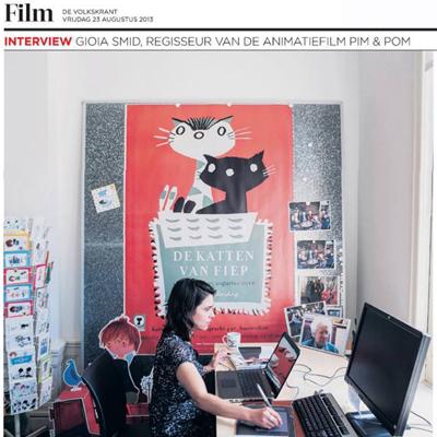 Nieuws Volkskrant 23-8-2013
